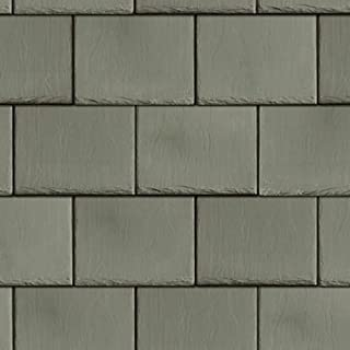 Melody Jane Dollhouse Roof Tile Slates Light Grey Miniature 1:12 Scale Card Roofing Sheet