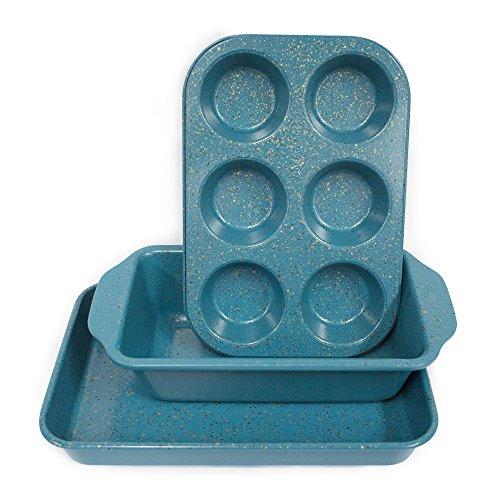 casaWare Toaster Ofen 3-teilig Blue - Granite
