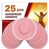 Fixic Freestyle Libre Adhesive Patch 25 PCS - Enlite - Guardian - Pre Cut Back Paper - Pink Color - Best Long Fixation for Your Sensor!