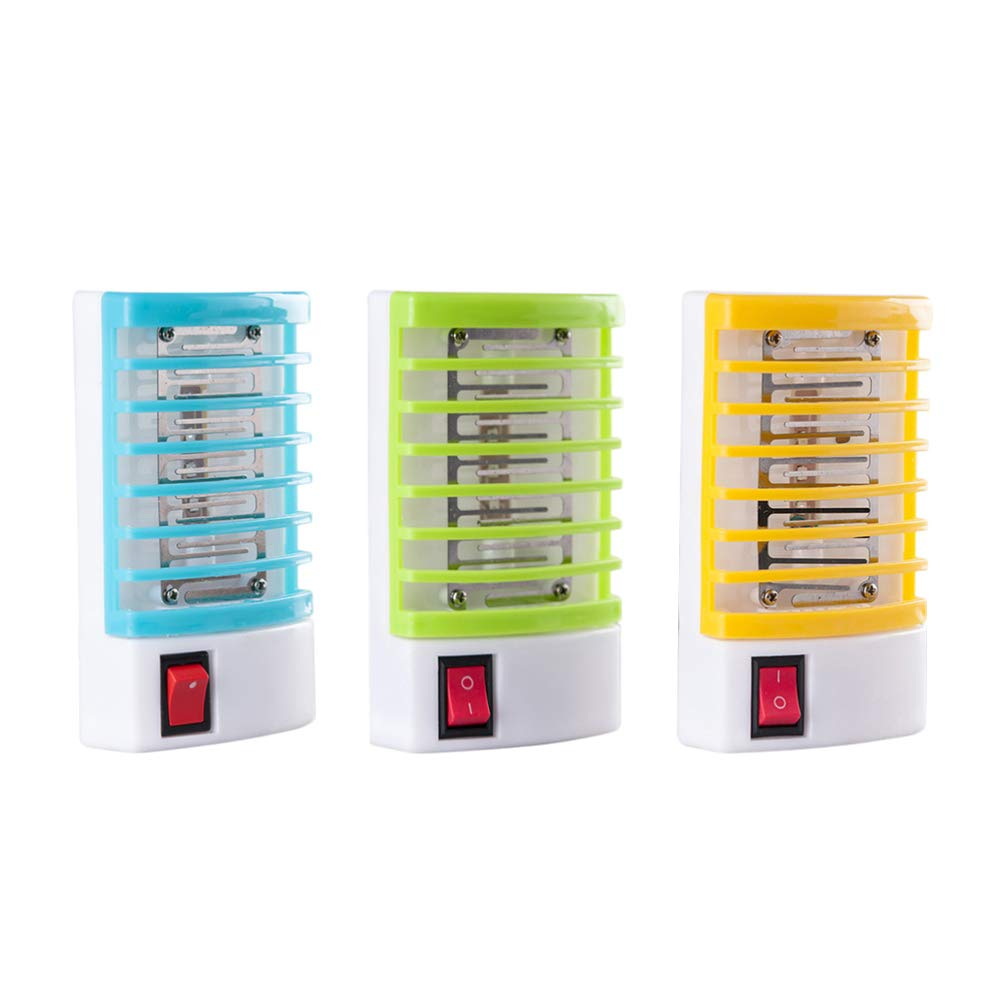 Kiminana Electronic Mosquito Killer LED Socket Electric Mosquito Fly Bug Insect Trap Zapper Night Lamp Lights Us
