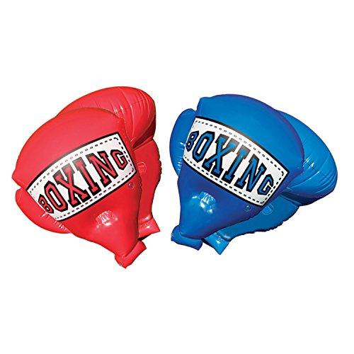 BANZAI 48263 Garden Toy Riesen aufblasbare Boxhandschuhe der Hit für Kinder, Rot Blau
