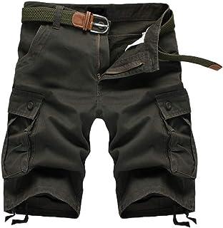 [DauStage] 5カラー 5サイズ ミリタリー ハーフ パンツ 6ポケット メンズ アーミー カーゴ ショート カジュアル 半 ズボン ミディアム 短パン