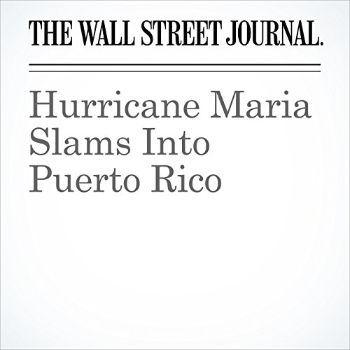Hurricane Maria Slams Into Puerto Rico copertina