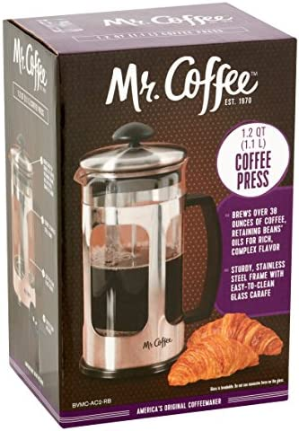 Top 10 Best mr coffee french press Reviews