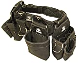 Gatorback B145 Carpenters Triple Combo w/Pro-Comfort Back Support Belt. For Best Fit Measure ACTUAL WAIST SIZE OVER CLOTHES. (Large 36'-40')