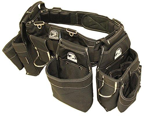 Gatorback B145 Carpenters Triple Combo w/Pro-Comfort Back Support Belt. For Best Fit Measure...