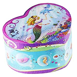 Dudubuy Best Friends Forever Design Musical Jewelry Box for Girls Gift