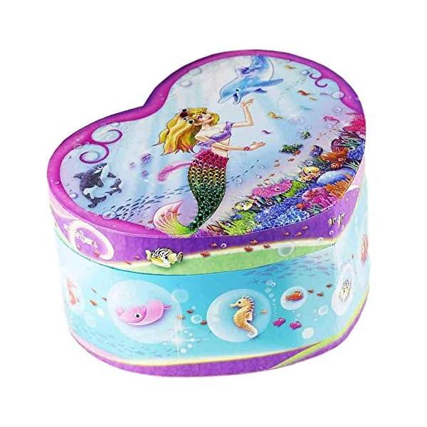Dudubuy Princess Design Musical Jewelry Box for Girls Gift 3