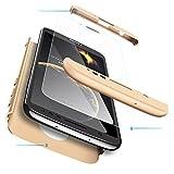 TiHen Coque Motorola Moto G6 360 degrés Très Mince Tout Inclus Protection 3 dans 1 boîtier PC...