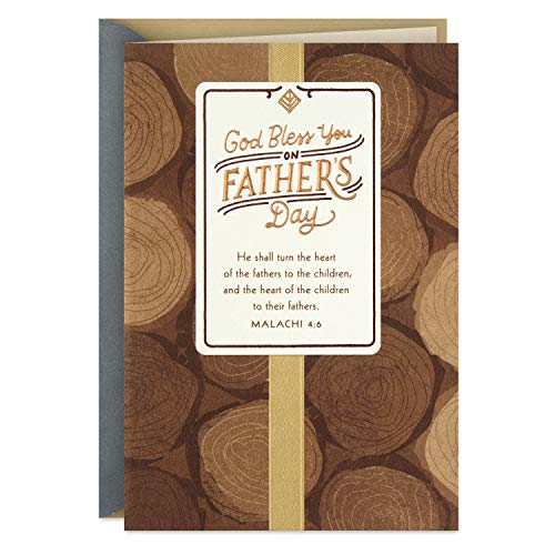Hallmark Dayspring Religious Father's Day Card (God Bless You)