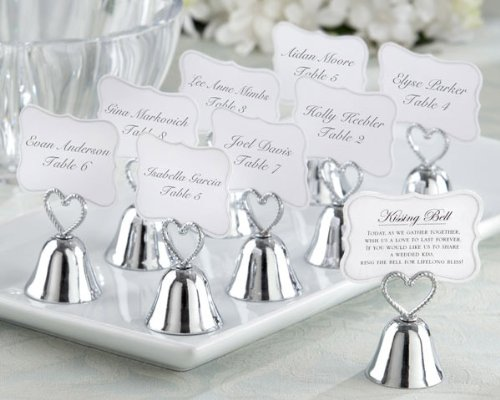 Kissing Bell Place Card Photo Holder Set of 24 (Set of 6)