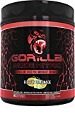 Gorilla Mode Nitric Stimulant Free Pre-Workout – Best Tasting and Most Effective Stimulant Free Pre-Workout / Massive Pumps · Vasodilation · Power / 720 Grams (Lemonade)