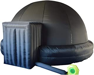 Sayok Portable Inflatable Planetarium Projection Dome Tent for School with Air Blower and PVC Floor Mat