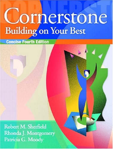 Cornerstone Building On Your Best Full Edition 4th Edition