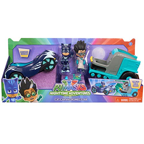 PJ Masks Hero vs. Villain Vehicles- Catboy & Romeo