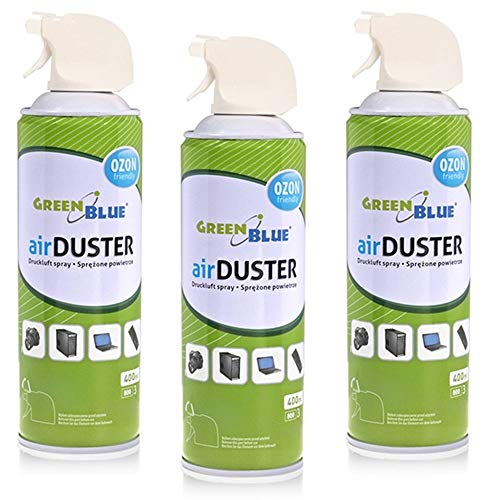 Green Blue GB400 Air Duster Cleaning Aire comprimido Spray Limpiador (3)