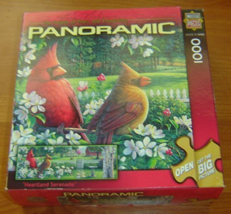 Envio gratis en todas las ordenes Master Master Master Pieces Panoramic Heartland Serenade Jigsaw Puzzle - 1000 Pieces by Master Pieces  calidad garantizada