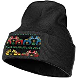 Myrna Kelse Suédois Dala Horse Folk Knit Cap Durable Stretch Beanie Hat Heavyweight Watch Hat Thermal Knit Hat for Runners Students Workers
