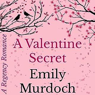 A Valentine Secret audiobook cover art