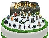 Vorgeschnittene und Essbare Harry Potter Szene Kuchen Topper (Tortenaufleger, Bedruckte Oblaten, Oblatenaufleger) -