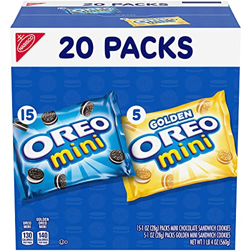 OREO Mini Mix Sandwich Cookies