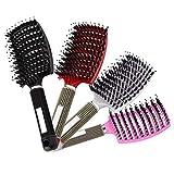 Brosse à cheveux démêlante en nylon Brosse démêlante à cheveux pour femme Zoomarlous