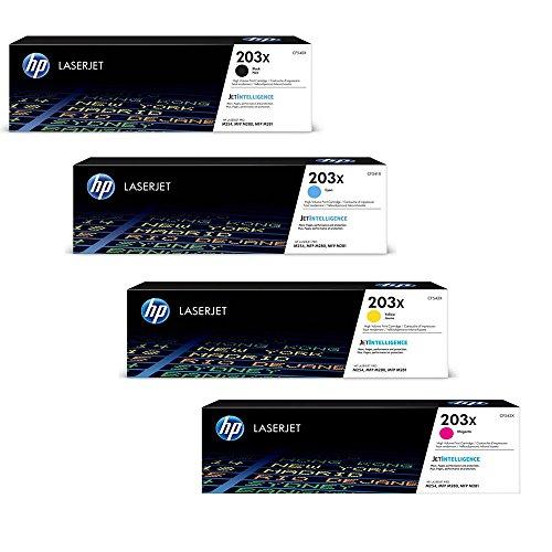 HP Color LaserJet Pro MFP M281fdw original Tonerkit 203X - CF540X / CF541X / CF542X / CF543X