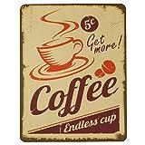 Nostalgische Unterlage 'Endless Cup' für Kaffemaschinen, Kaffeevollautomaten, Wasserkocher und mehr...