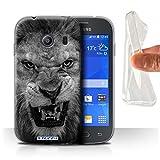 Hülle Für Samsung Galaxy Ace Style Zoo-Tiere Löwe Design