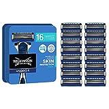 Wilkinson Sword Hydro 5 Skin Protection Regular - 16 Recambios de Cuchillas de Afeitar de 5 Hojas con Banda Lubricante...