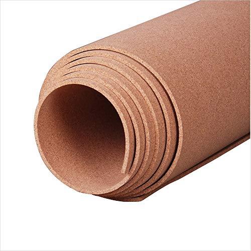 "Manton Cork Roll, 100% Natural, 4' x 8' x 1/4"""