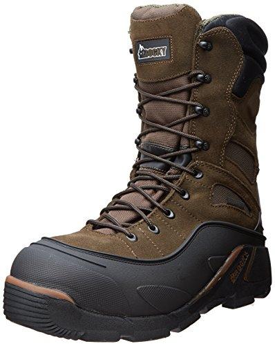 Rocky Men's Blizzard Stalker Pro Hunting Boot,Brown/Black,12 M US