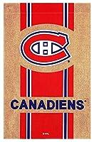 Team Sports America黄麻布モントリオールカナディアンズ家フラグ、28x 44cm
