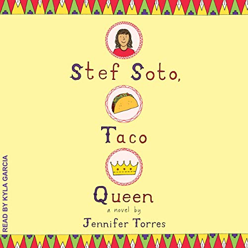 Stef Soto, Taco Queen audiobook cover art