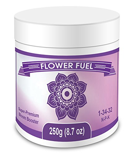 Flower Fuel 1-34-32, 250g - The Best Bloom Booster for...