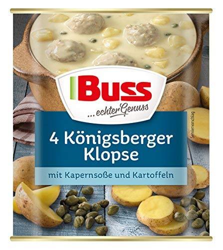 Buss 4 Königsberger Klopse mit Kapernsoße und Kartoffeln, 800 g