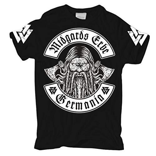 Männer und Herren T-Shirt Germania Midgards Erbe Größe S - 2XL