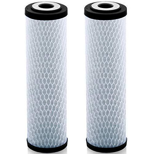 Lake Industries Universal 25,4cm Carbon Block Wasserfilter Kartusche–Ersatz, 5Micron CTO Wasser Luftreiniger Filter, Aktivkohle (NSF 42Zertifiziert)