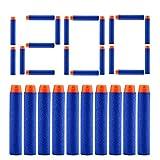 AKABELA (ASTM and CPC Certified | 1200 Darts) Refill Darts 1200 PCS Bulk Bullets Foam Darts Pack Compatible with Nerf Guns N-Strike Elite Series Blaster Toy Guns Kids (Blue)