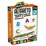 Headu- Montessori Alfabeto Tattile, Multicolore, IT20164...