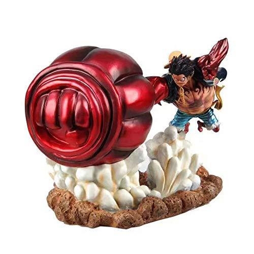 QIYHB Einteiliger AFFE D. Luffy Strohhut Junge Das fünfte Meer Kaiser-Battle Edition PVC-Material Anime-Figur Modell Boxed Spielzeug Geschenke