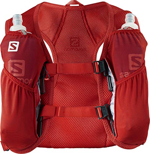 Salomon Agile 2 Mochila Ligera 3L + 2 Soft Flask de 500 ml