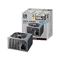 玄人志向STANDARDシリーズ80PLUS500W ATX電源 (自作PC)