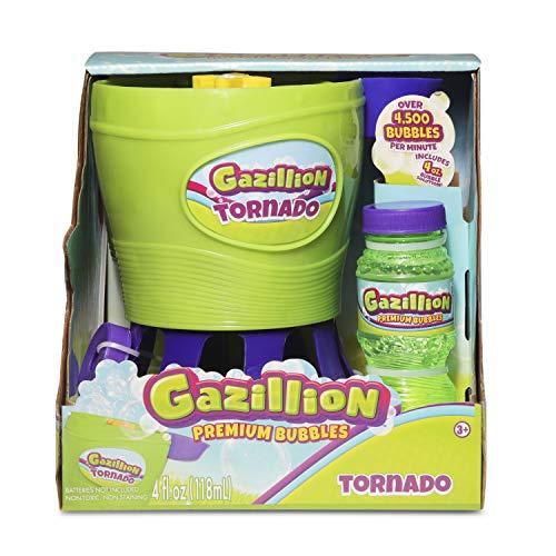 Gazillion Bubbles Gazillion Tornado Bubble Toy 36365, Green, Blue, Yellow, Multi