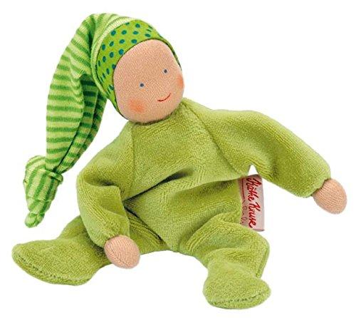 Peluche para bebé Käthe Kruse 74213 color verde