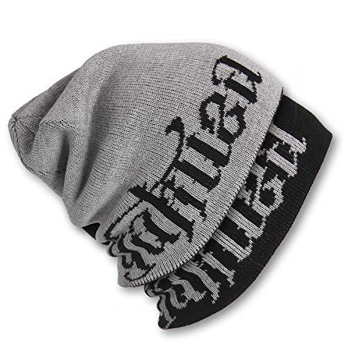 Yakuza Unisex Branding Reversible Knit Beanie Mütze