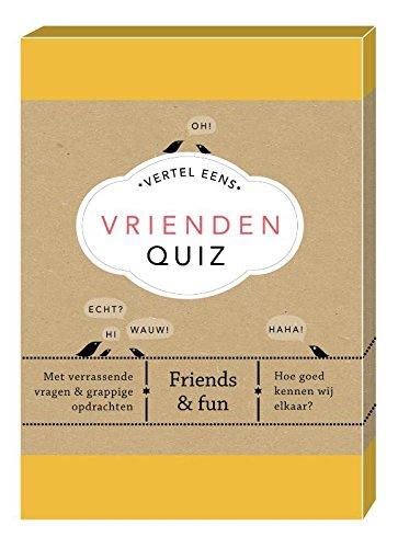 Vrienden Quiz: met verrassende vragen & grappige opdrachten