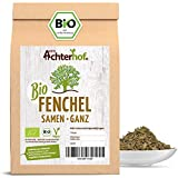 Fenchelsamen BIO süß ganz (250g) | Fenchel Samen | Fencheltee | als Gewürz oder Fenchel Anis Kümmel Tee