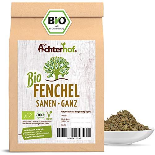 Fenchelsamen BIO süß ganz (250g) | Fenchel Samen | Fencheltee | als Gewürz oder Fenchel Anis...