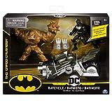 DC Comics Pack Batmoto con 2 Figuras Acción 10 cm (BIZAK 61927811)